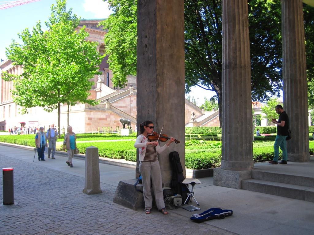 Ein bisschen musik im Park (a little music in the park)